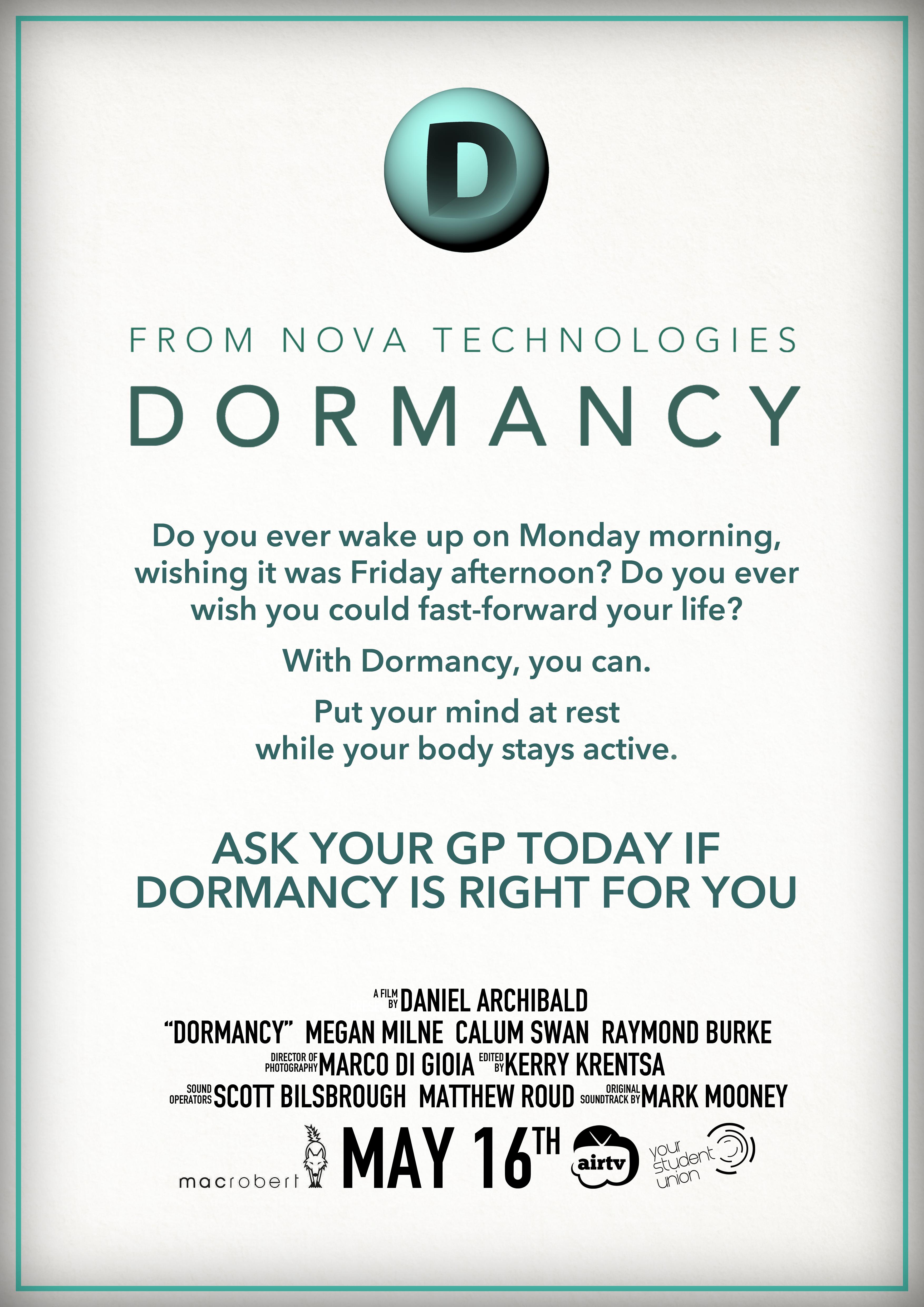 Dormancy Poster