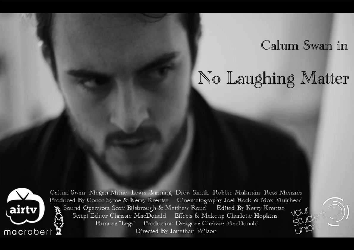 no laughing matter poster