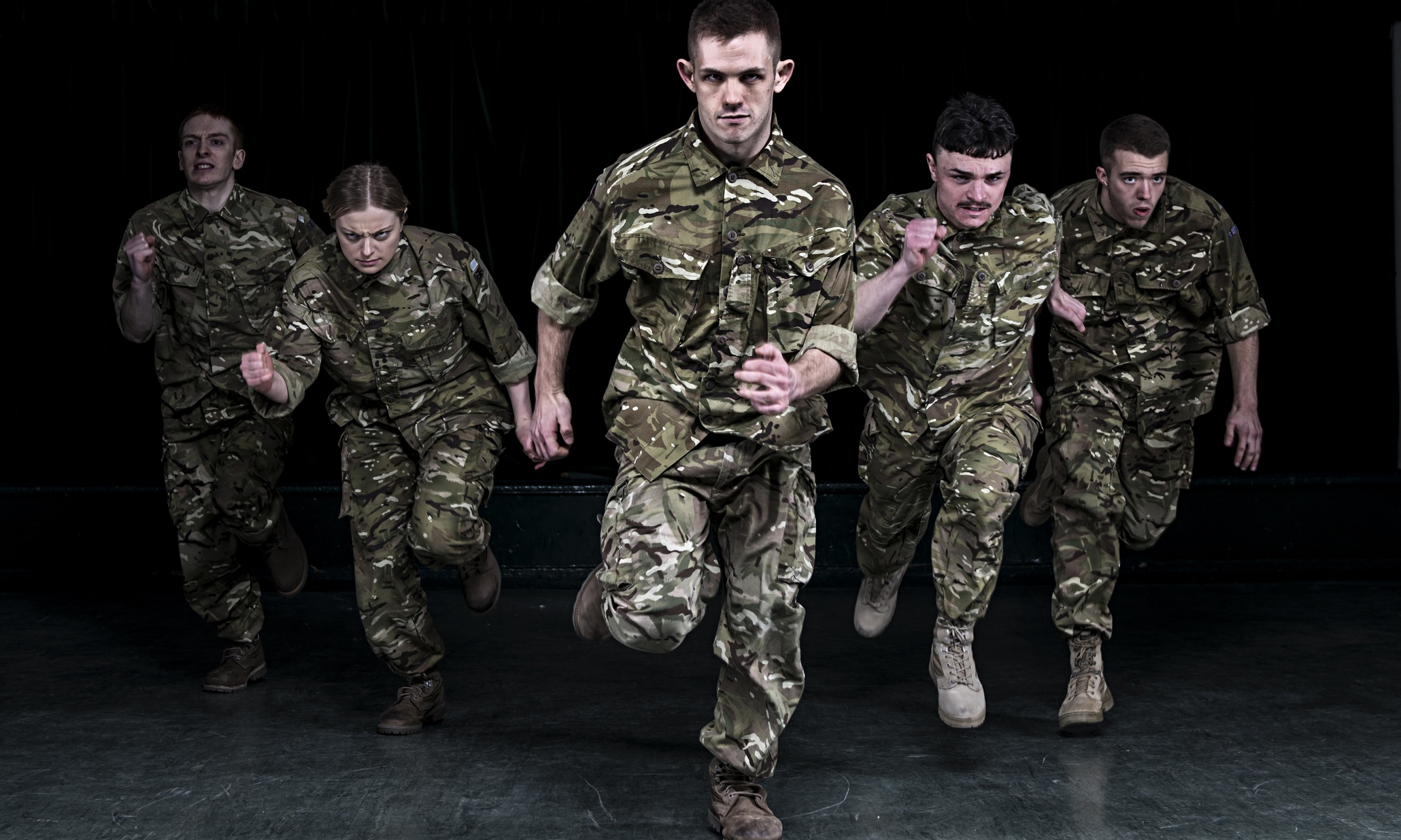 5 soldiers rosie kay