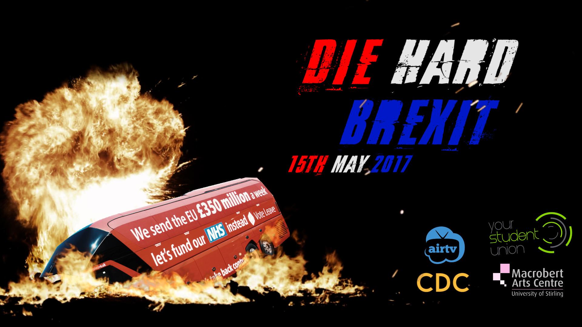 Die Hard Brexit Poster