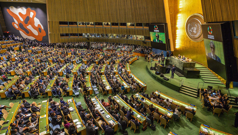 NATO Secretary General attends United Nations General Assembly
