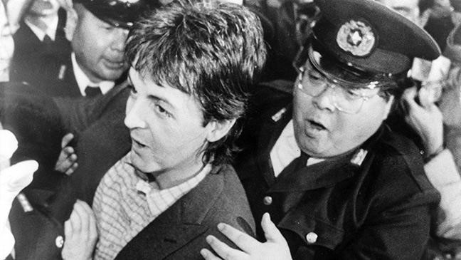McCartney Arrest