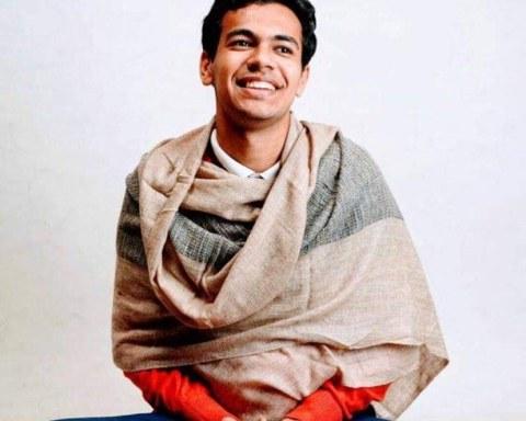 Kanishk Saraogi spent a year teaching meditation in Scotland before returning to his home in Kolkata, India. Photo Credit: Calm on Canning Street.