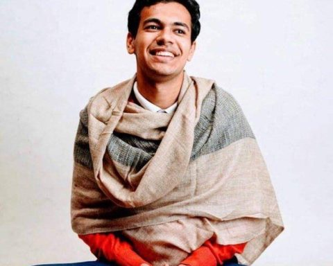 Kanishk Saraogi spent a year teaching meditation in Scotland before returning to his home in Kolkata, India. Photo Credit: Calm on Canning Street.