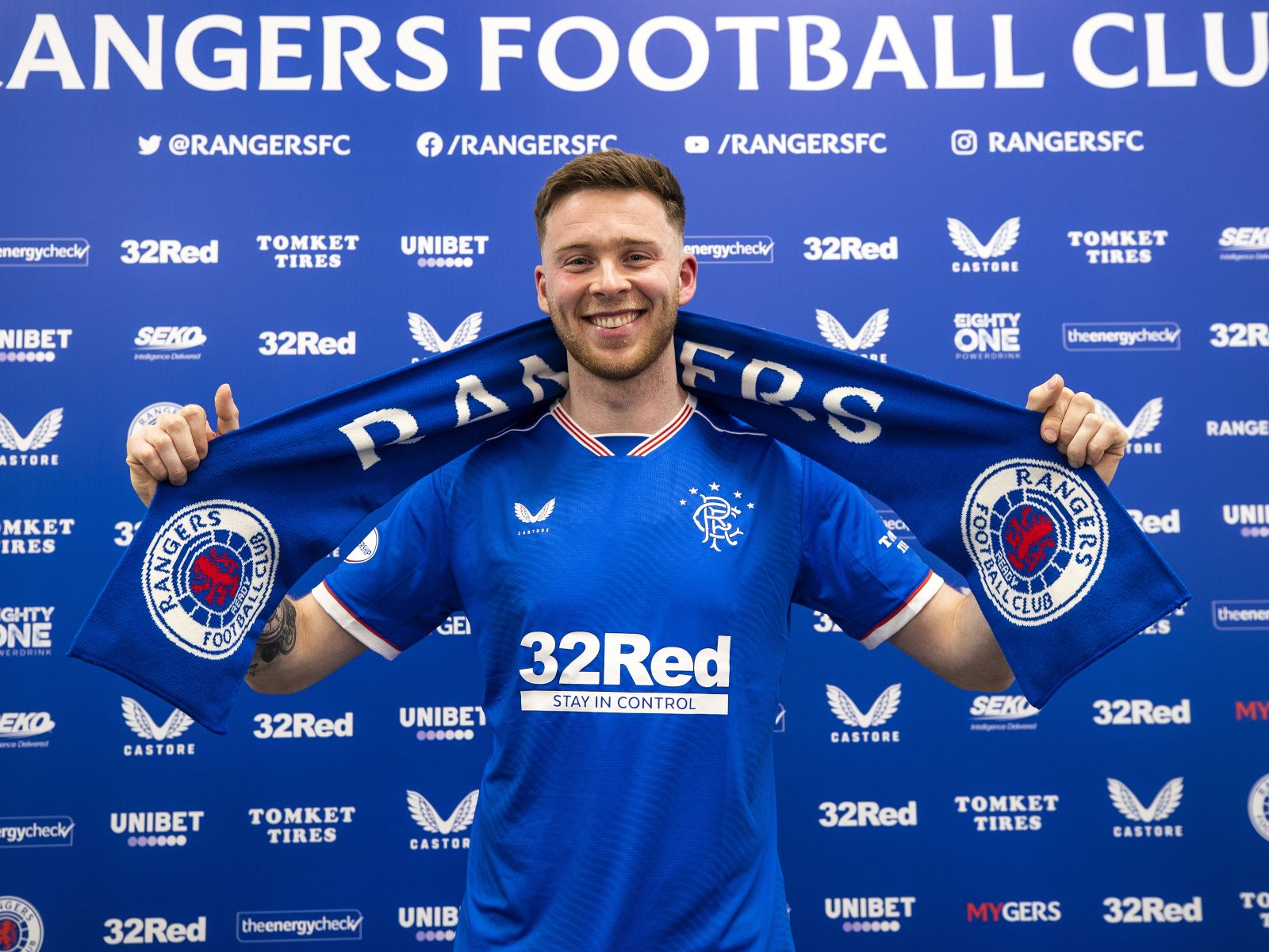 Image Credit: Rangers Website