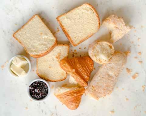 bread food toast dawn